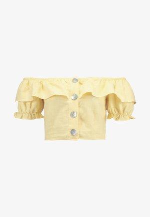 PUFF SLEEVE - Bluser - yellow