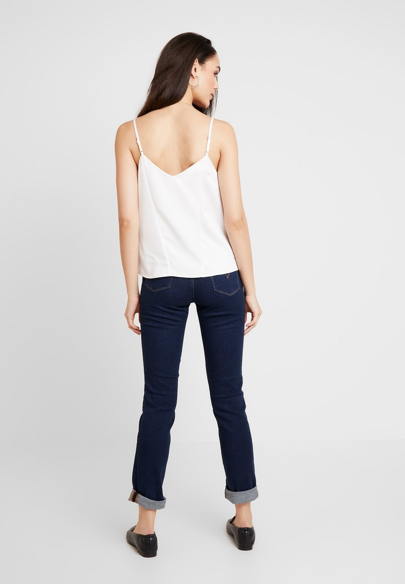 Topshop - PANEL INSERT CAMI - Top - ivory
