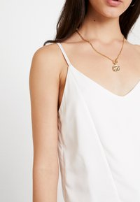 Topshop - PANEL INSERT CAMI - Top - ivory - 4