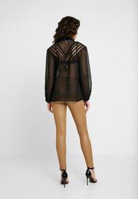 Topshop - PANEL - Camisa - black - 2