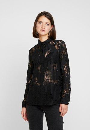 EYELASH - Camisa - black