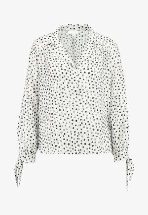 SELF STRIPE SPOT - Košile - ivory