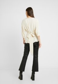 Topshop - PLUNGE DOWN - Blouse - off-white - 2