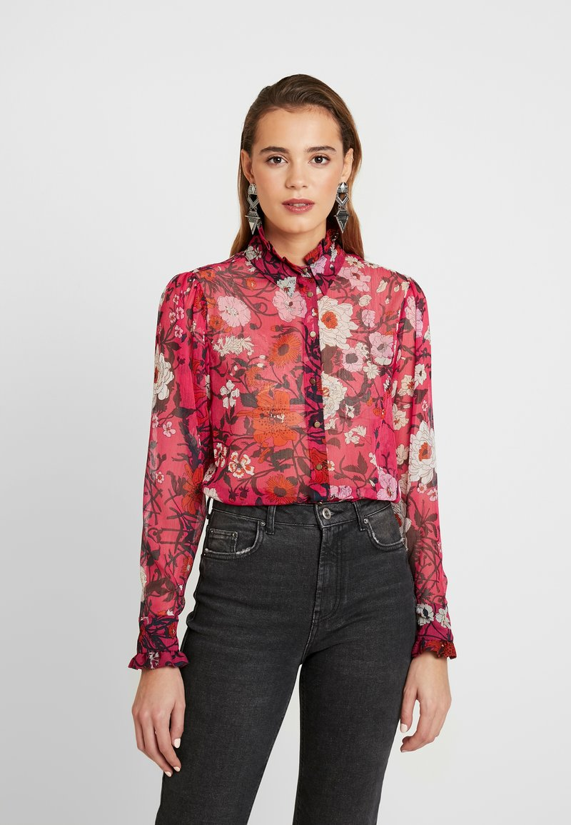 Topshop - POPPY FLORAL - Blouse - multi-coloured
