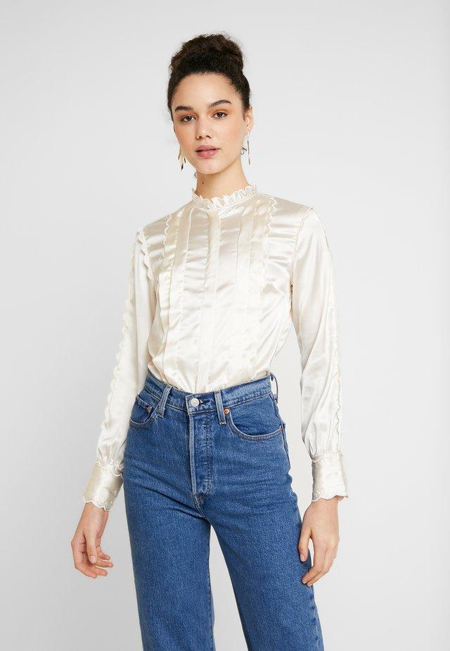 SCALLOP - Blusa - off white