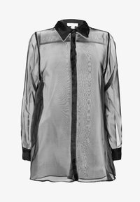 Topshop - OVERSIZED  - Camicia - black - 4