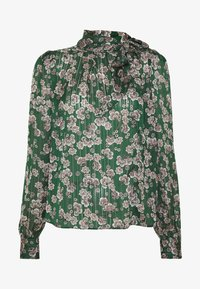 Topshop - ORIENTAL PUSSYBOW - Blouse - green - 4