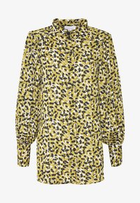 Topshop - SMUDGE - Button-down blouse - khaki - 4