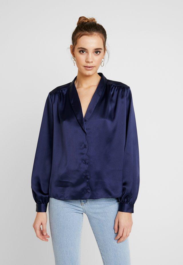 SCALLOP - Overhemdblouse - dark blue