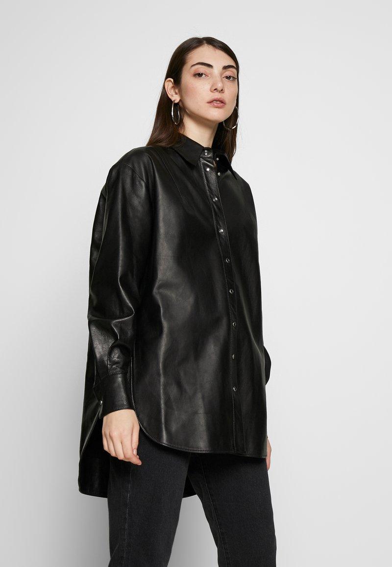 Topshop - Camisa - black
