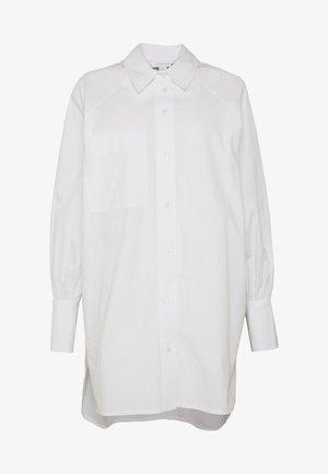 OVERSIZED POPLIN UPDATE - Blouse - white