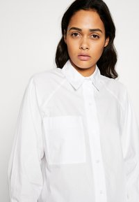 Topshop - OVERSIZED POPLIN UPDATE - Blouse - white - 3