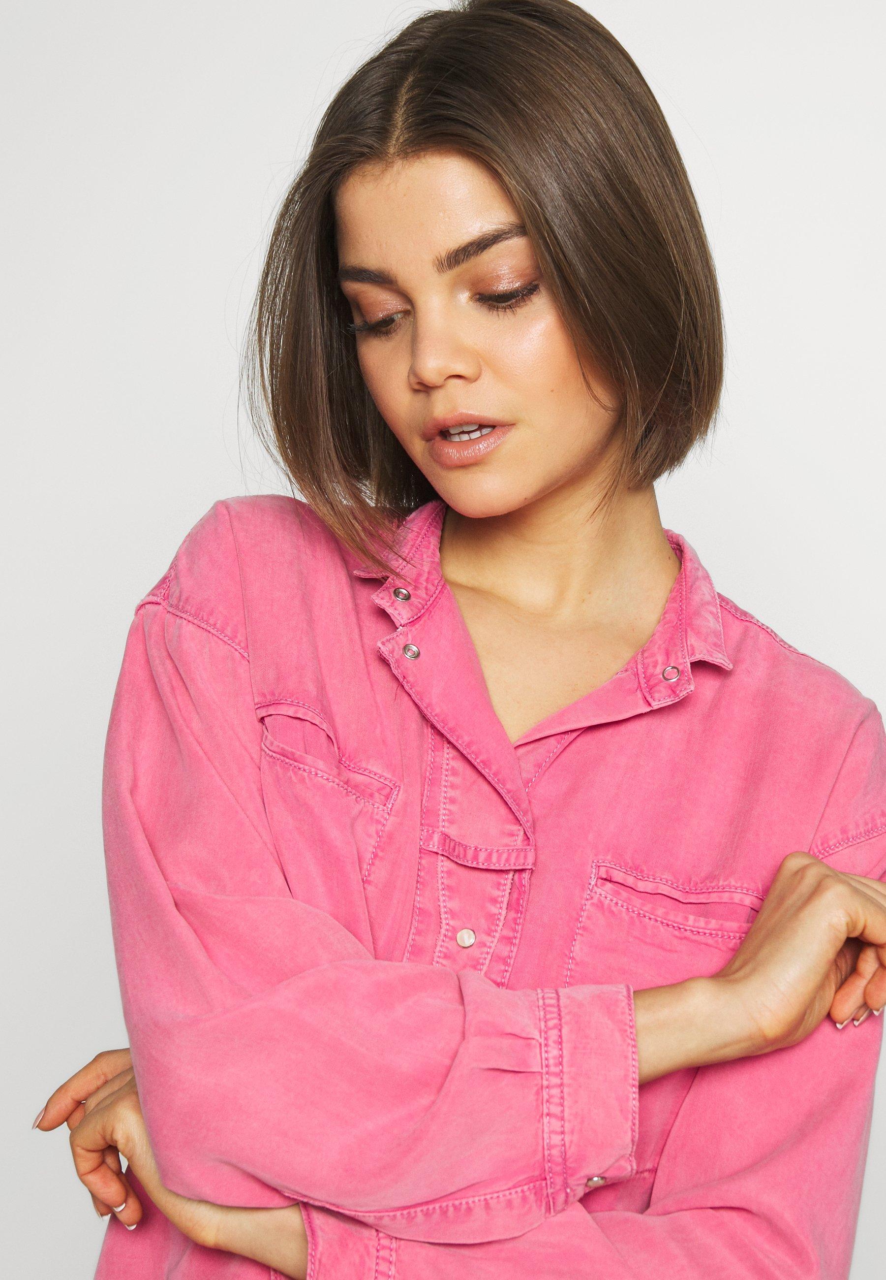 Topshop ACID - Blusa - pink