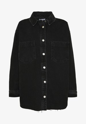 OVERSHIRT - Skjortebluser - black denim