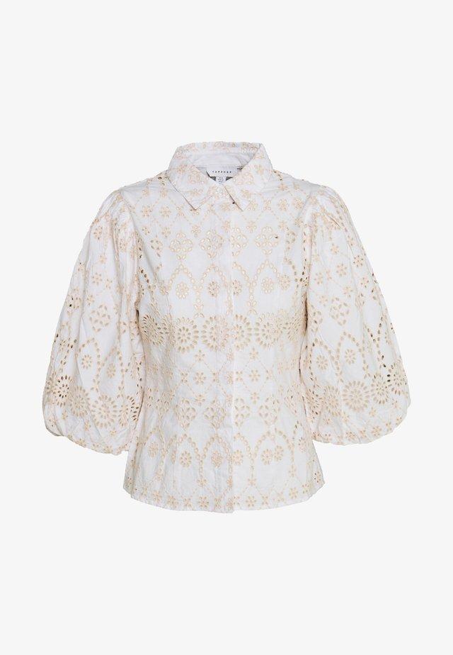BALLOON SLEEVE - Koszula - white