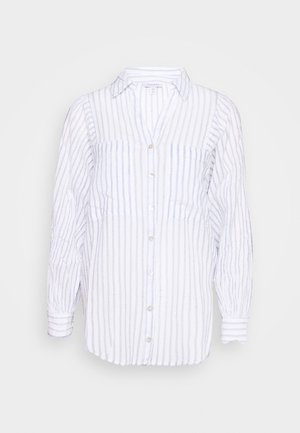 STRIPE CASUAL - Camisa - blue