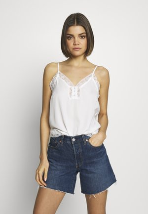 BUTTON CAMI - Blouse - ivory