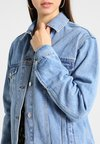 Topshop - SEAM - Jeansjacke - light blue