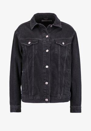 SEAM - Džínová bunda - washed black