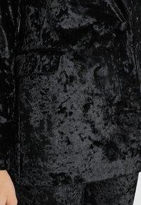 Topshop - BONDED - Blazer - black - 5