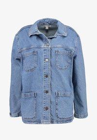 Topshop - SHACKET - Denim jacket - blue denim - 5