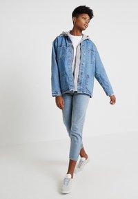 Topshop - SHACKET - Denim jacket - blue denim - 2