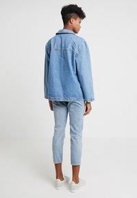 Topshop - SHACKET - Denim jacket - blue denim - 3