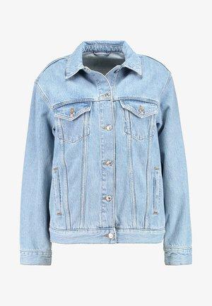 SEAM WESTERN - Giacca di jeans - blue denim