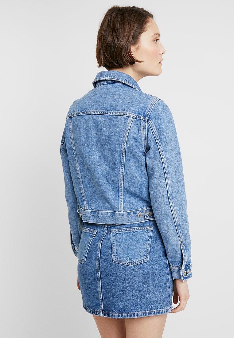 Topshop TILDA - Veste en jean blue denim