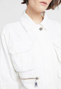Topshop - JOSE SHACKETT - Lehká bunda - white - 5