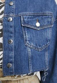 Topshop - HACK - Džínová bunda - blue denim - 6