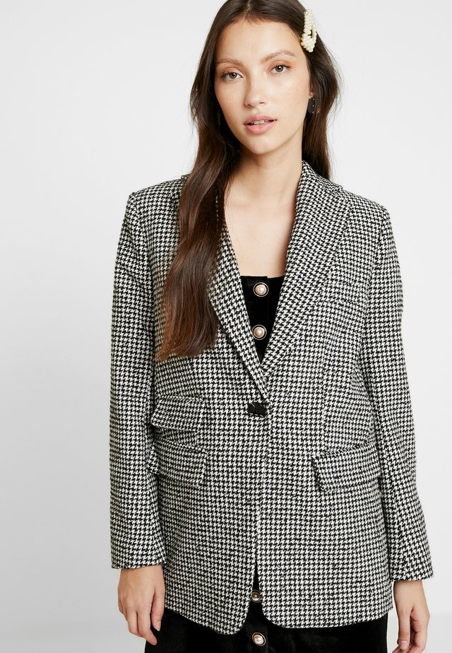 DOGSTOOTH DAD - Blazer - black/white
