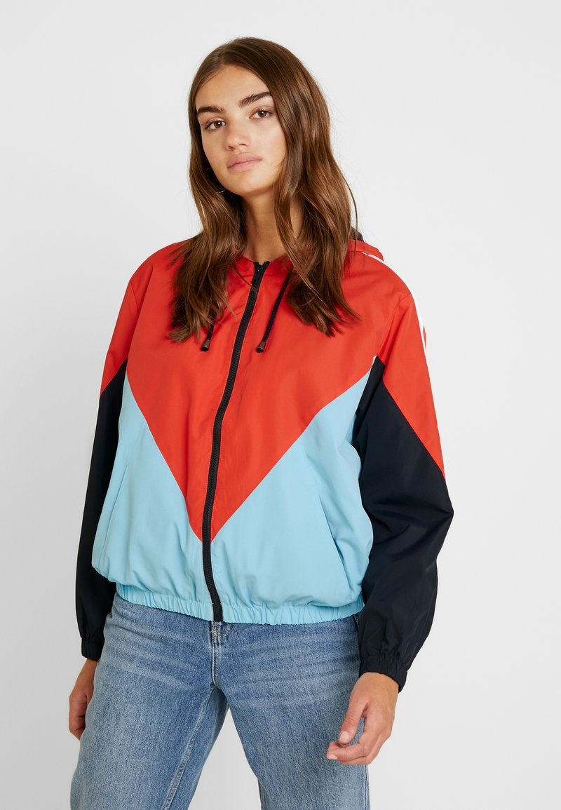Topshop - DALLAS WINDBREAKER - Bomberjacke - blue