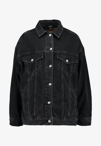 Topshop - DAD - Veste en jean - black denim - 3