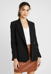 Topshop - NEW SUIT - Blazer - black - 0