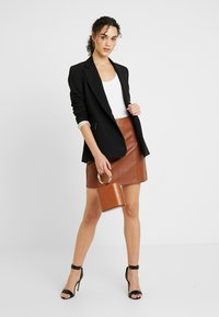 Topshop - NEW SUIT - Blazer - black - 1