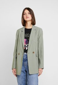 Topshop - Short coat - khaki - 0