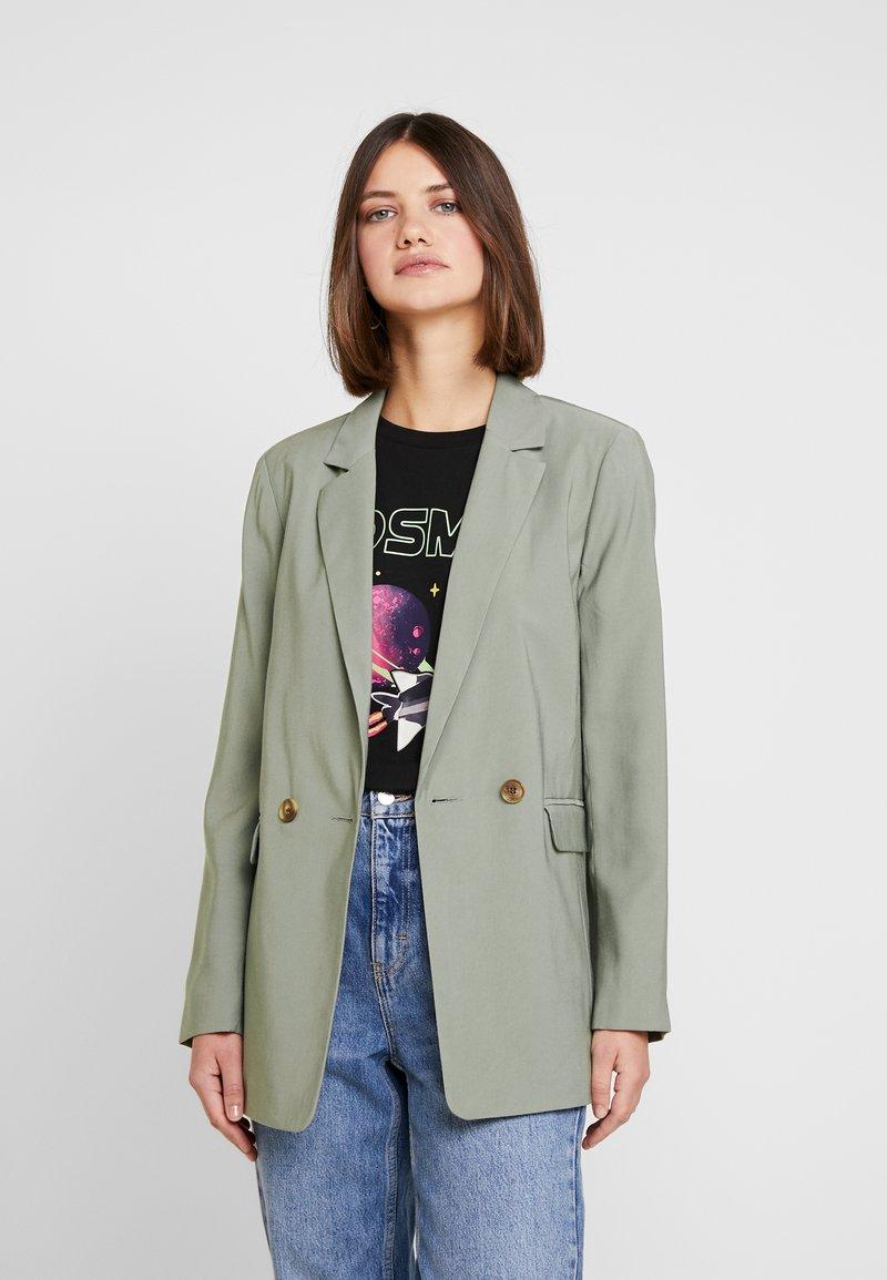 Topshop - Short coat - khaki