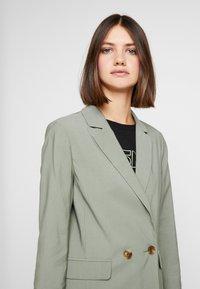 Topshop - Short coat - khaki - 4