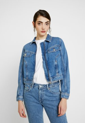 ZIP TILDA JACKET - Denim jacket - blue denim