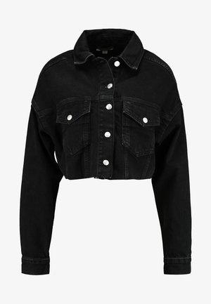 HACKED OFF - Denim jacket - black denim