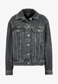 Topshop - SEAM WESTERN - Veste en jean - black denim - 3