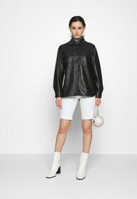 Topshop - Faux leather jacket - black - 1