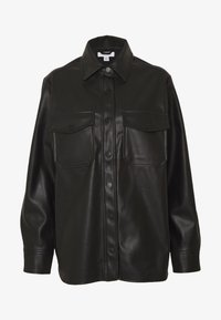 Topshop - Faux leather jacket - black - 4