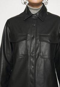 Topshop - Faux leather jacket - black - 5