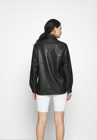 Topshop - Faux leather jacket - black - 2