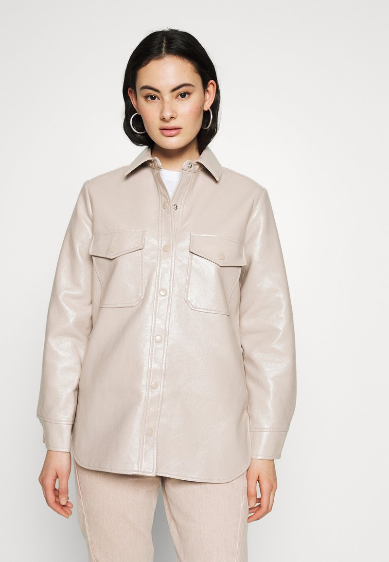 Topshop - Button-down blouse - pink