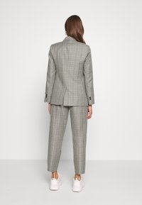 Topshop - CHECK JACKET - Blazer - mint - 2