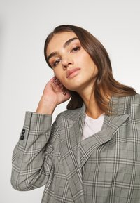 Topshop - CHECK JACKET - Blazer - mint - 3