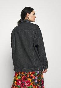 Topshop - DAD - Denim jacket - black denim - 2